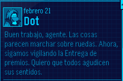 dot mensaje